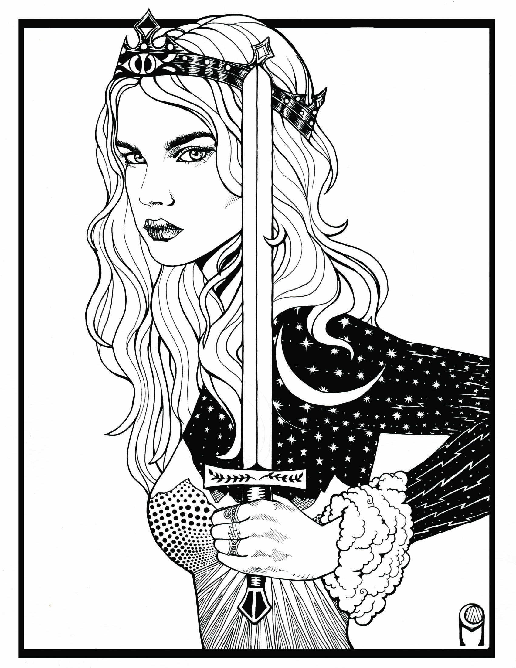 The Tarot deck, coming soon....